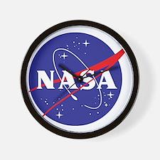 NASA Logo Wall Clock