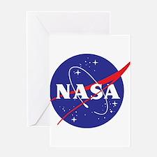 NASA Logo Greeting Card