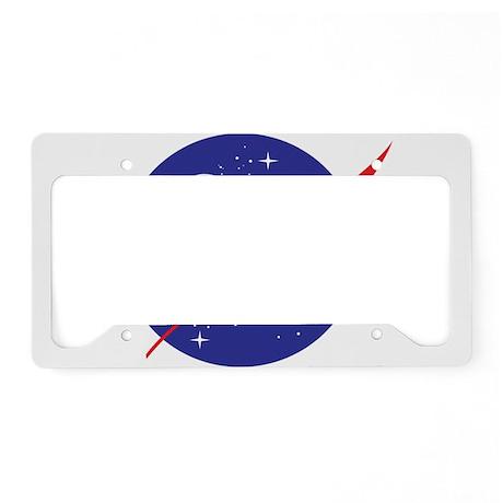 NASA Logo License Plate Holder by nasashop
