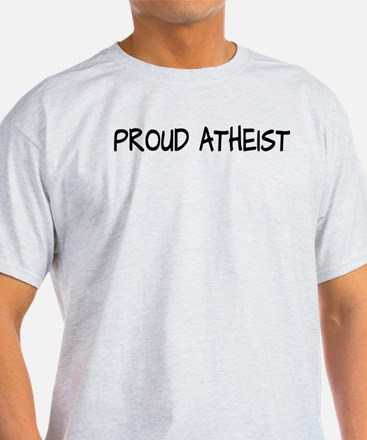 Proud Atheist (Freethinker) T-Shirt