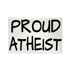 Proud Atheist (Freethinker) Rectangle Magnet