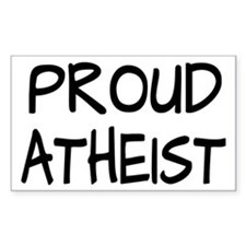 Proud Atheist (Freethinker) Decal