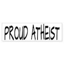Proud Atheist (Freethinker) Bumper Sticker