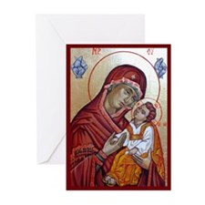 Funny Icons Greeting Cards (Pk of 10)