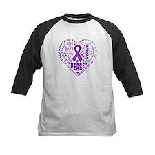 Alzheimers Disease Heart Words Tee