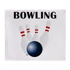 Bowling Throw Blanket