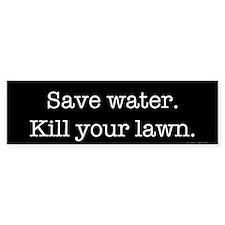 Save Water (bumper) Bumper Bumper Sticker
