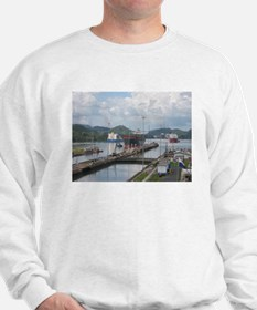 Panama: Miraflores Locks at t Sweatshirt