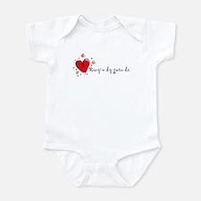 """""""I Love You"""" [Welsh] Infant Bodysuit"""