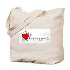 """I Love You"" [Welsh] Tote Bag"