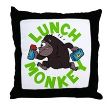 Funny Choking hazard Throw Pillow