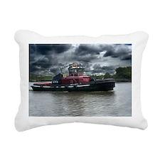 Tugboat Moran Rectangular Canvas Pillow