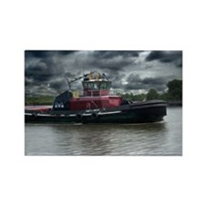 Tugboat Moran Rectangle Magnet