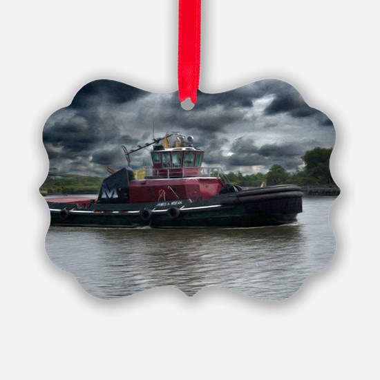 Tugboat Moran Ornament