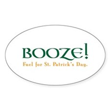 St Patricks Oval Decal