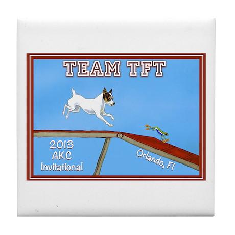 2013 Team TFT Logo Tile Coaster