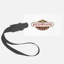 Redwood National Park Luggage Tag