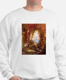 Autumn Trees Fine Art Sweater
