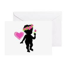 I Love Roses Greeting Card
