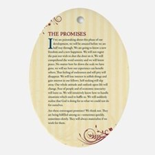 The Promises Oval Ornament