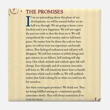 The Promises Tile Coaster