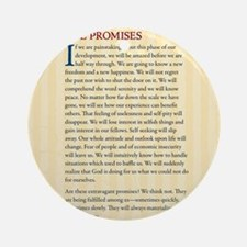 The Promises Round Ornament