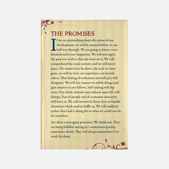 The Promises Rectangle Magnet