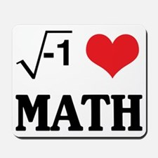 I Love Math (Equation) Mousepad