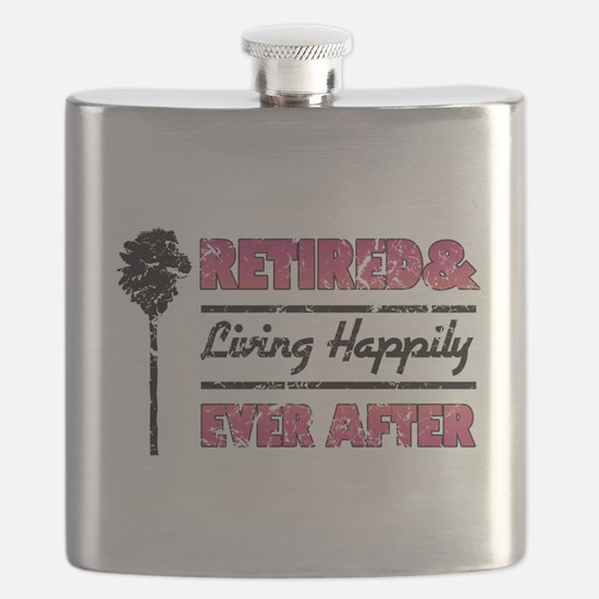Retired (Happily Ever After) Flask