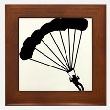BASE Jumper / Skydiver Framed Tile