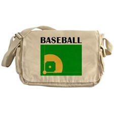 Baseball Messenger Bag