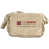 The marfan foundation Messenger Bag