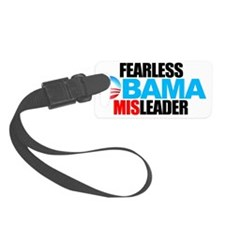 2-FEARLESS-MISLEADER-LOGO-STACKE Luggage Tag