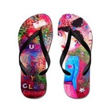 just stay close Flip Flops
