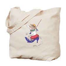 walk a mole in my shoes Tote Bag