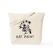eat paint Tote Bag