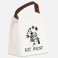 eat paint Canvas Lunch Bag