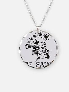 eat paint Necklace