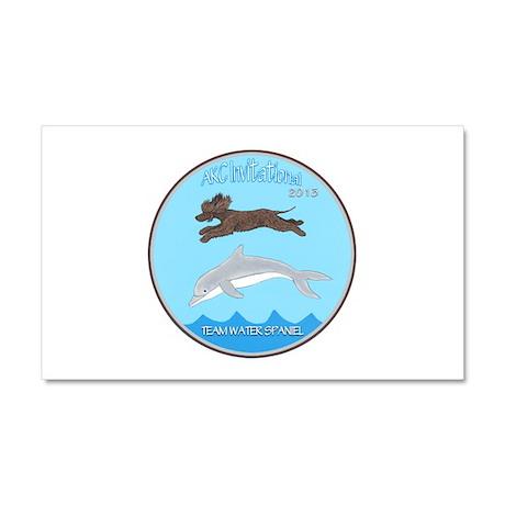 2013 Team Water Spaniel Logo Car Magnet 20 X 12