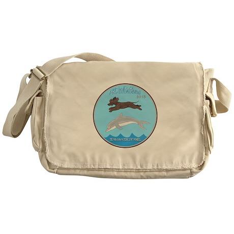 2013 Team Water Spaniel Logo Messenger Bag