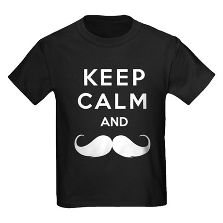 Keep calm and moustache T-Shirt