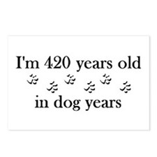 60 dog years 4-2 Postcards (Package of 8)