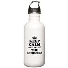 Trust the Engineer Water Bottle