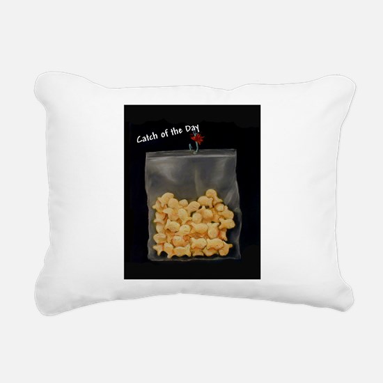 Catch of the Day Rectangular Canvas Pillow