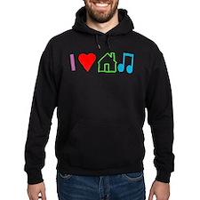 I Heart House Music (Color) Hoodie