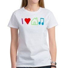 I Heart House Music (Color) T-Shirt