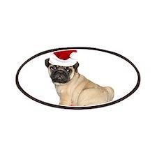 Christmas pug dog Patches