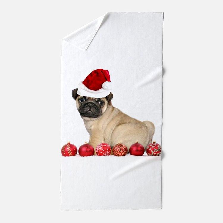 Christmas Bathroom Accessories Uk: Pug Christmas Bathroom Accessories & Decor