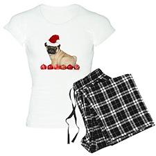 Christmas pug dog Pajamas