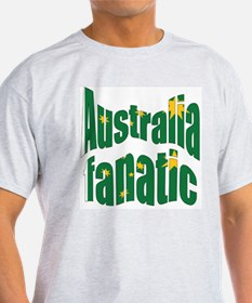 Australia fanatic Ash Grey T-Shirt